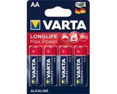 VARTA 4706, Longlife Max Power, AA, LR06,  Blister (4)