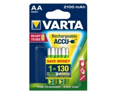 VARTA 56706 Longlife Accu Ready2Use AA 2100mAh  Blister (2)