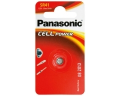 Panasonic Silberoxid SR41 Blister (1)