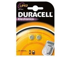 DURACELL LR43, Knopfzelle 43 Blister (2)