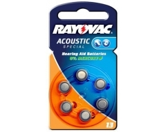 Rayovac 4606 Hörgerätebatterie HA13 (PR48)