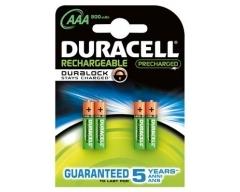 DURACELL PreCharged Micro Akku Ni-MH 1,2V / 850mAh Blister (4)