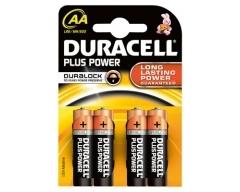 DURACELL Plus MN1500 AA, LR6, Mignon, Blister (4)
