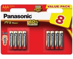 PANASONIC LR03 Pro Power Micro Batterie Blister (8)