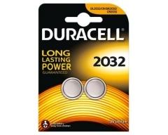 DURACELL CR2032, Lithium Knopfzelle, 3V/210mAh, Blister (2)