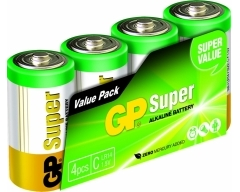 03014AS4, Super Alkaline, C, Baby LR 14 Schlauch (4)