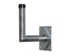 ANKARO® ANK MZ-WHS-250, Stahl-Wandhalter 25x24cm / TÜV-geprüft