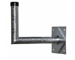 ANKARO® ANK MZ-WHS-500, Stahl-Wandhalter 50x24cm / TÜV-geprüft