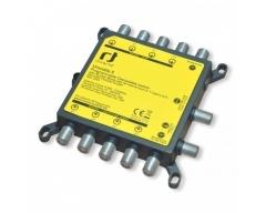 Inverto Programmierbarer Unicable II Wideband Multischalter für bis zu 32 Teilnehmer oder TP, IDLU-UWT110-CU010-32PP