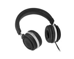 M2, FUNKY schwarz, On-Ear-Kopfhörer mit Mikrofon und Lautstärkeregler