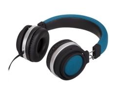 M2, FUNKY meerblau, On-Ear-Kopfhörer mit Mikrofon und Lautstärkeregler