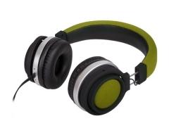 M2, FUNKY oliv-grün, On-Ear-Kopfhörer mit Mikrofon und Lautstärkeregler