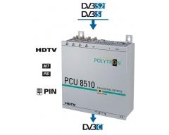 PCU 8510 Umsetzung von 8 DVB-S/S2 Transpondern in DVB-C