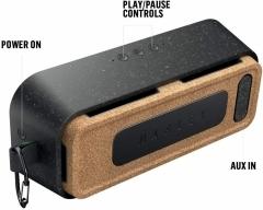 """EM-JA017-SB, MARLEY """"No Bounds XL"""" schwarz, Bluetooth-Lautsprecher, wasser-/staubdicht"""