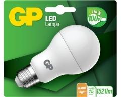 GP LED Lampe, E27, Classic 14W, nicht dimmbar, 080305