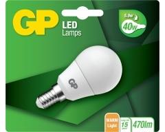 GP LED Lampe, E14, 5,9W, nicht dimmbar, 078036