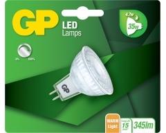 GP LED Lampe, GU5.5, MR16, 4,7W, DIMMBAR, Reflektor, 084983
