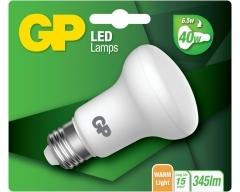 GP LED Lampe, E27, R63, 6,5W, Reflektor