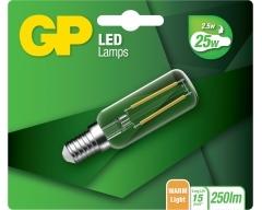 GP Kühlschrank, LED Lampe, E14, T25, 2,5W