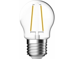 GP LED Lampe, E27, 2,1W, TropfenLampe Filament, 078111