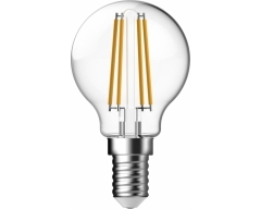 GP LED Lampe, E14, 4,4W, TropfenLampe Filament, 078142