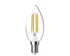 GP LED Lampe, E14, 4W, Kerze Filament FlameSwitch, 085348