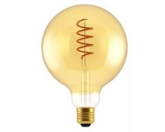 GP LED Lampe, E27, 5W, Filament SpiralFlame, 085195