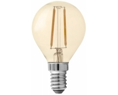 GP LED Lampe, E14, 1,2W, Filament Gold, 080589