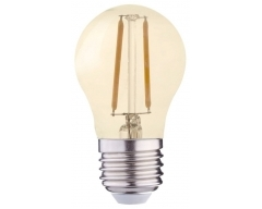 GP LED Lampe, E27, 1,2W, Filament Gold, 080596