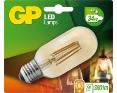 GP LED Lampe, E27, 4W, Filament Gold, 080671