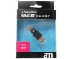AM75306, USB-Adapter, USB A - Mini-USB B