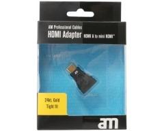AM75308, HDMI-Adapter HDMI-Buchse - Mini-HDMI-Stecker