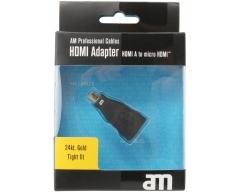 AM75309, HDMI-Adapter HDMI-Buchse - Mikro-HDMI-Stecker