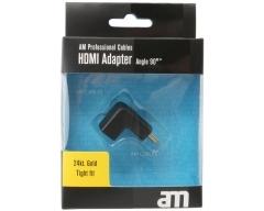AM75310, HDMI-Winkel-Adapter 90 Grad