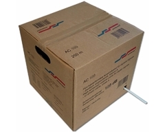 AC100 250m Butler/Weiß, Koaxialkabel >120 dB, Klasse A+, Dreifachgeschirmt