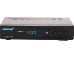 ANKARO ANK DSR 2100, Full HD Digitaler Satelliten Receiver
