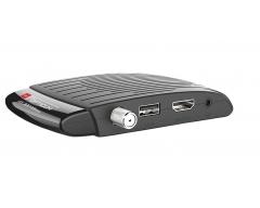 Opticum HD AX300 mini PVR, DVB-S-HD-Receiver, HDMI, SCART, Conax, mit PVR