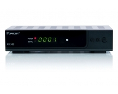 Opticum HD AX 300 schwarz, DVB-S-HD-Receiver, HDMI, Scart, USB, Full-HD