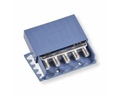 ANKARO ANK 4/1 DiSEqC WSG, DiSEqC Schalter 2.0 für 4 LNCs, 1 Ausgang, mit Wetterschutzgehäuse, für Mastmontage