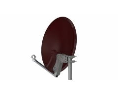 ANK60STR 60cm, ziegelrot, Stahl-Reflektor