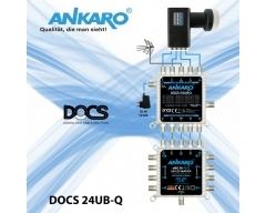 ANKARO DOCS 24UB-Q, Einkabel-Multischalter (DOCS - Digital One Cable Solution) mit 24 Benutzerbänder