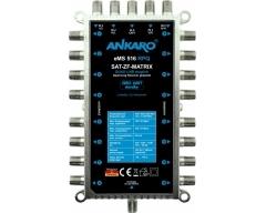ANKARO eMS 516 RPQ, Multischalter 5/16, Alu-Druckguss, Quad/Quattro geeignet, ohne Netzteil