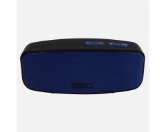 S2G AXESS Stereo schwarz/blau, Stereo-Bluetooth-Lautsprecher mit FM-Radio und Freisprecheinrichtung