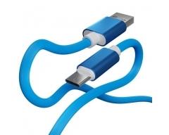 BC-10 blau, 1m USB-C Ladekabel Handy