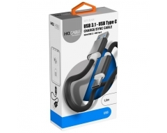 BC-10 schwarz, 1m USB-C Ladekabel Handy