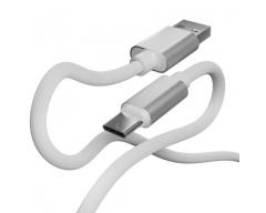 BC-10 weiß, 1m USB-C Ladekabel Handy