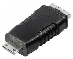 C200BL, HDMI-Kupplung 19 pol. auf HDMI-Stecker 19 pol. Typ C