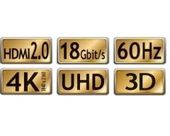 C215-5L, 5,0m, Premium-HDMI-Kabel, HDMI LCC zertifiziert, HDR, 18GHz, 4K, HDMIPREMIUM