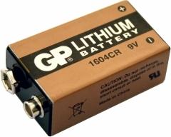 GP CR-V9, Lithium 9Volt für Rauchmelder, 1er Blister