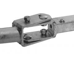 Dachvorsprungshalter universal, Rohr Ø 43 mm